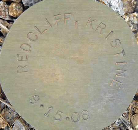 REDCLIFF, KRISTINE - Maricopa County, Arizona   KRISTINE REDCLIFF - Arizona Gravestone Photos