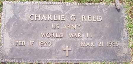 REED, CHARLIE G. - Maricopa County, Arizona | CHARLIE G. REED - Arizona Gravestone Photos