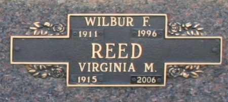 REED, WILBUR F - Maricopa County, Arizona | WILBUR F REED - Arizona Gravestone Photos