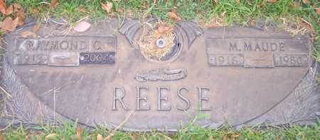 REESE, M. MAUDE - Maricopa County, Arizona | M. MAUDE REESE - Arizona Gravestone Photos