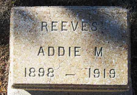 REEVES, ADDIE M. - Maricopa County, Arizona | ADDIE M. REEVES - Arizona Gravestone Photos