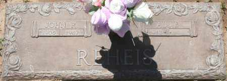 REHEIS, ALLIE - Maricopa County, Arizona | ALLIE REHEIS - Arizona Gravestone Photos