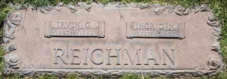 REICHMAN, INGRID N - Maricopa County, Arizona | INGRID N REICHMAN - Arizona Gravestone Photos