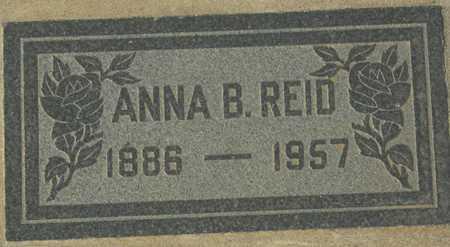 REID, ANNA B. - Maricopa County, Arizona | ANNA B. REID - Arizona Gravestone Photos