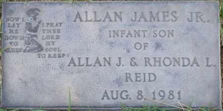 REID, ALLAN JAMES, JR. - Maricopa County, Arizona | ALLAN JAMES, JR. REID - Arizona Gravestone Photos