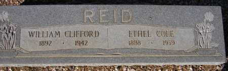 REID, WILLIAM CLIFFORD - Maricopa County, Arizona | WILLIAM CLIFFORD REID - Arizona Gravestone Photos