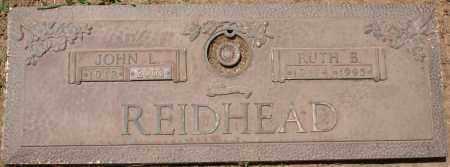 REIDHEAD, JOHN L. - Maricopa County, Arizona | JOHN L. REIDHEAD - Arizona Gravestone Photos