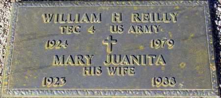 REILLY, WILLIAM H. - Maricopa County, Arizona | WILLIAM H. REILLY - Arizona Gravestone Photos