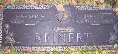 REINERT, RICHARD C. - Maricopa County, Arizona | RICHARD C. REINERT - Arizona Gravestone Photos