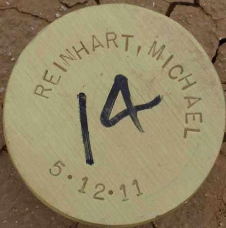 REINHART, MICHAEL - Maricopa County, Arizona | MICHAEL REINHART - Arizona Gravestone Photos