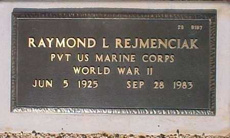 REJMENCIAK, RAYMOND L. - Maricopa County, Arizona | RAYMOND L. REJMENCIAK - Arizona Gravestone Photos