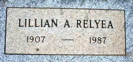 RELYEA, LILLIAN A. - Maricopa County, Arizona | LILLIAN A. RELYEA - Arizona Gravestone Photos