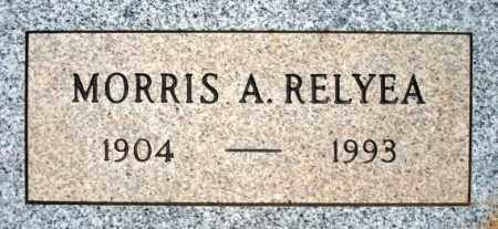 RELYEA, MORRIS A. - Maricopa County, Arizona | MORRIS A. RELYEA - Arizona Gravestone Photos