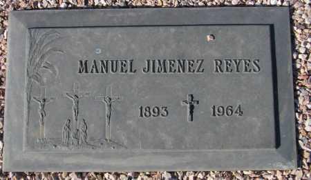 REYES, MANUEL JIMENEZ - Maricopa County, Arizona   MANUEL JIMENEZ REYES - Arizona Gravestone Photos