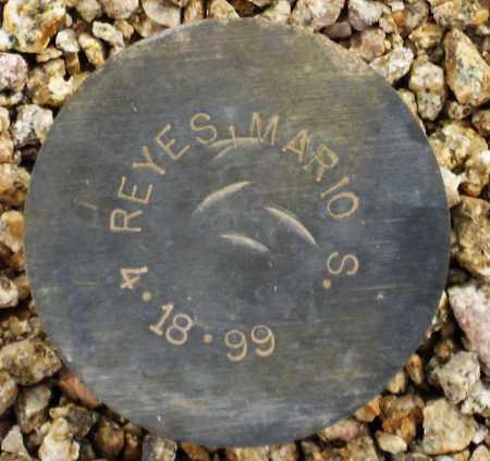 REYES, MARIO S, - Maricopa County, Arizona | MARIO S, REYES - Arizona Gravestone Photos