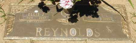 REYNOLDS, ELLIS J. - Maricopa County, Arizona | ELLIS J. REYNOLDS - Arizona Gravestone Photos