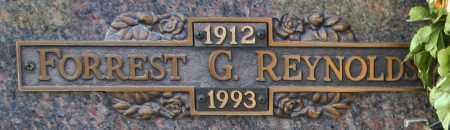 REYNOLDS, FORREST G - Maricopa County, Arizona | FORREST G REYNOLDS - Arizona Gravestone Photos