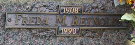 REYNOLDS, FREDA M - Maricopa County, Arizona | FREDA M REYNOLDS - Arizona Gravestone Photos