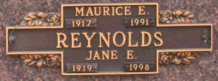 REYNOLDS, JANE E - Maricopa County, Arizona | JANE E REYNOLDS - Arizona Gravestone Photos