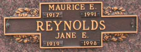 REYNOLDS, MAURICE E - Maricopa County, Arizona | MAURICE E REYNOLDS - Arizona Gravestone Photos