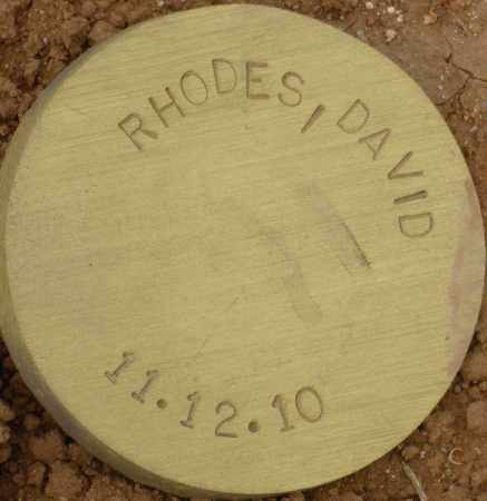 RHODES, DAVID - Maricopa County, Arizona | DAVID RHODES - Arizona Gravestone Photos
