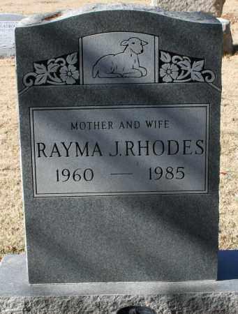 RHODES, RAYMA J - Maricopa County, Arizona | RAYMA J RHODES - Arizona Gravestone Photos