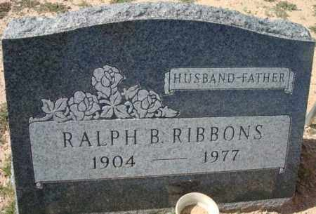 RIBBONS, RALPH B. - Maricopa County, Arizona | RALPH B. RIBBONS - Arizona Gravestone Photos