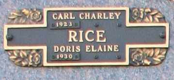 RICE, CARL CHARLEY - Maricopa County, Arizona | CARL CHARLEY RICE - Arizona Gravestone Photos