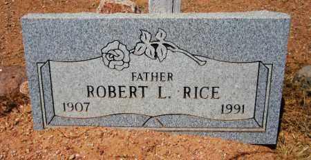 RICE, ROBERT L. - Maricopa County, Arizona   ROBERT L. RICE - Arizona Gravestone Photos