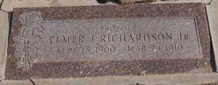 RICHARDSON, ELMER J, JR - Maricopa County, Arizona | ELMER J, JR RICHARDSON - Arizona Gravestone Photos