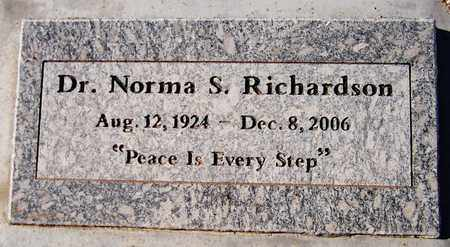 RICHARDSON, NORMA S. - Maricopa County, Arizona | NORMA S. RICHARDSON - Arizona Gravestone Photos