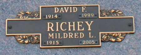 RICHEY, MILDRED L - Maricopa County, Arizona | MILDRED L RICHEY - Arizona Gravestone Photos