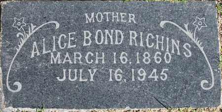 RICHINS, ALICE IDA - Maricopa County, Arizona | ALICE IDA RICHINS - Arizona Gravestone Photos