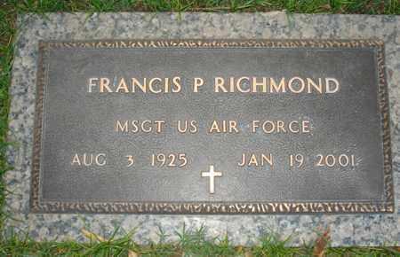 RICHMOND, FRANCIS P - Maricopa County, Arizona | FRANCIS P RICHMOND - Arizona Gravestone Photos