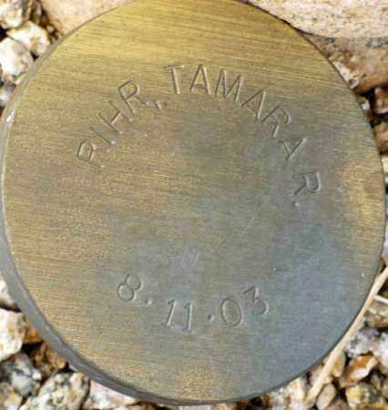 RIHR, TAMARA R. - Maricopa County, Arizona | TAMARA R. RIHR - Arizona Gravestone Photos