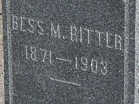 RITTER, BESS M - Maricopa County, Arizona | BESS M RITTER - Arizona Gravestone Photos