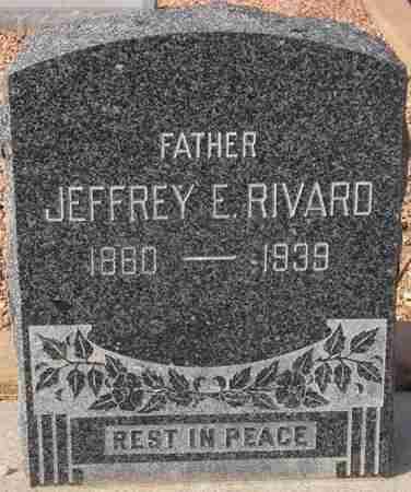 RIVARD, JEFFREY E. - Maricopa County, Arizona | JEFFREY E. RIVARD - Arizona Gravestone Photos