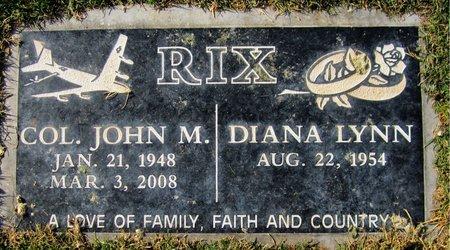 RIX, JOHN M - Maricopa County, Arizona | JOHN M RIX - Arizona Gravestone Photos