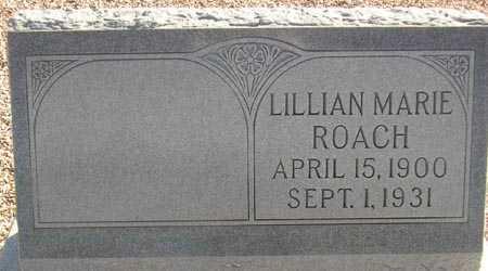 PITTMAN ROACH, LILLIAN MARIE - Maricopa County, Arizona   LILLIAN MARIE PITTMAN ROACH - Arizona Gravestone Photos
