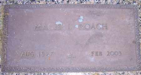 ROACH, MACIE L. - Maricopa County, Arizona | MACIE L. ROACH - Arizona Gravestone Photos