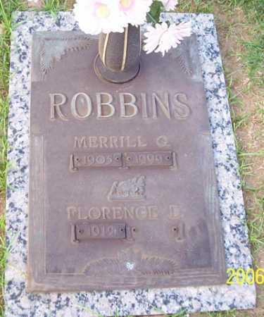 ROBBINS, MERRILL G. - Maricopa County, Arizona | MERRILL G. ROBBINS - Arizona Gravestone Photos