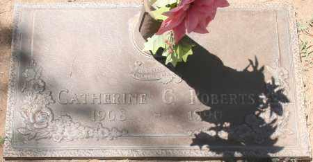 ROBERTS, CATHERINE G. - Maricopa County, Arizona   CATHERINE G. ROBERTS - Arizona Gravestone Photos