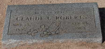 ROBERTS, CLAUDE C. - Maricopa County, Arizona | CLAUDE C. ROBERTS - Arizona Gravestone Photos