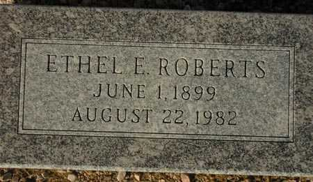 ROBERTS, ETHEL E. - Maricopa County, Arizona | ETHEL E. ROBERTS - Arizona Gravestone Photos