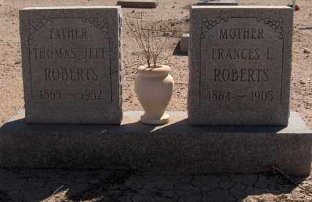ROBERTS, FRANCES L. - Maricopa County, Arizona | FRANCES L. ROBERTS - Arizona Gravestone Photos