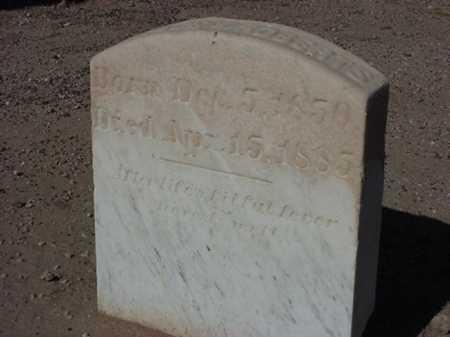 ROBERTS, HORACE W - Maricopa County, Arizona   HORACE W ROBERTS - Arizona Gravestone Photos