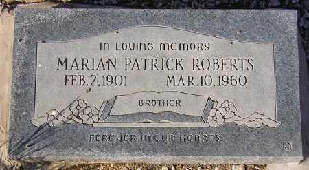 ROBERTS, MARIAN PATRICK - Maricopa County, Arizona | MARIAN PATRICK ROBERTS - Arizona Gravestone Photos