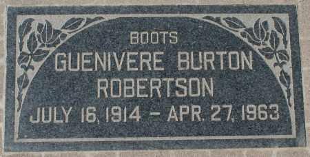 "ROBERTSON, GUENIVERE ""BOOTS"" - Maricopa County, Arizona | GUENIVERE ""BOOTS"" ROBERTSON - Arizona Gravestone Photos"