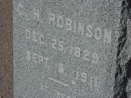ROBINSON, CHARLES H - Maricopa County, Arizona | CHARLES H ROBINSON - Arizona Gravestone Photos