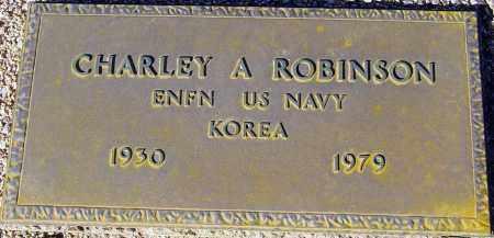 ROBINSON, CHARLEY A. - Maricopa County, Arizona | CHARLEY A. ROBINSON - Arizona Gravestone Photos